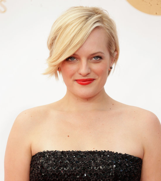 Elizabeth Moss at the Emmys
