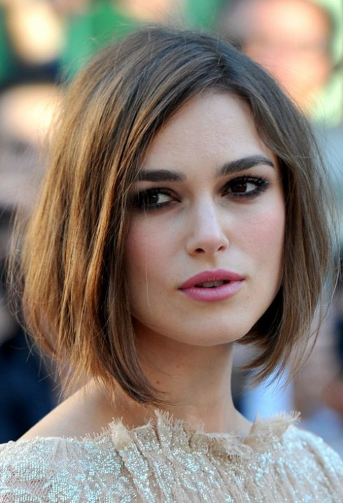 The New Bob Keira - knightley demi bob haircut