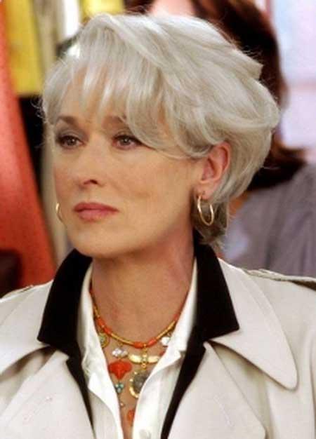 Meryl Streep Grey Hair