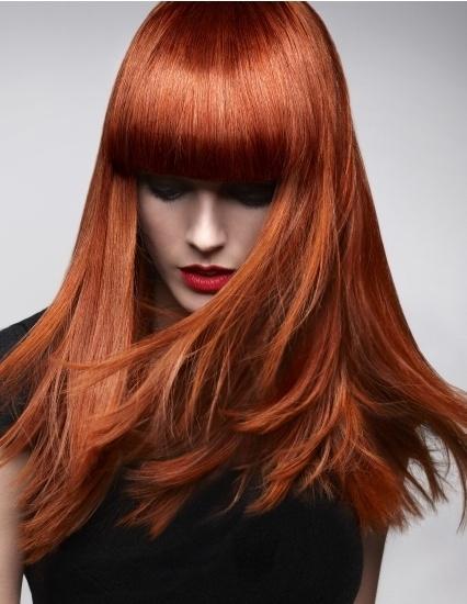 Hair trends for 2016 - Golden copper hair colour