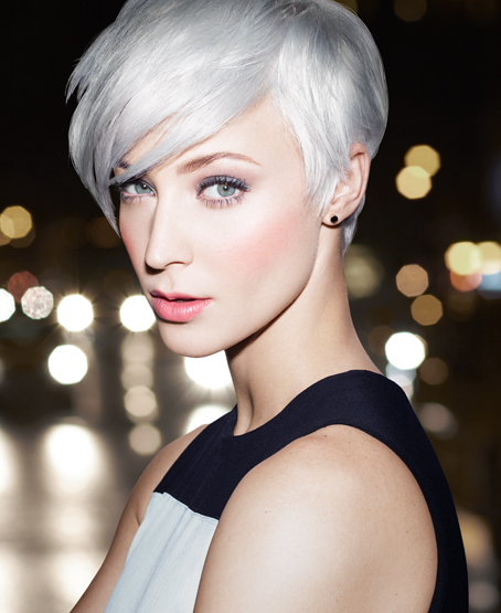 Hair trends for 2016 - metallic silvery blonde