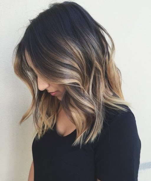 Hair Trends for Women 2017 - Cocoa Bean Brown with Honey Pecan Blonde Balyage