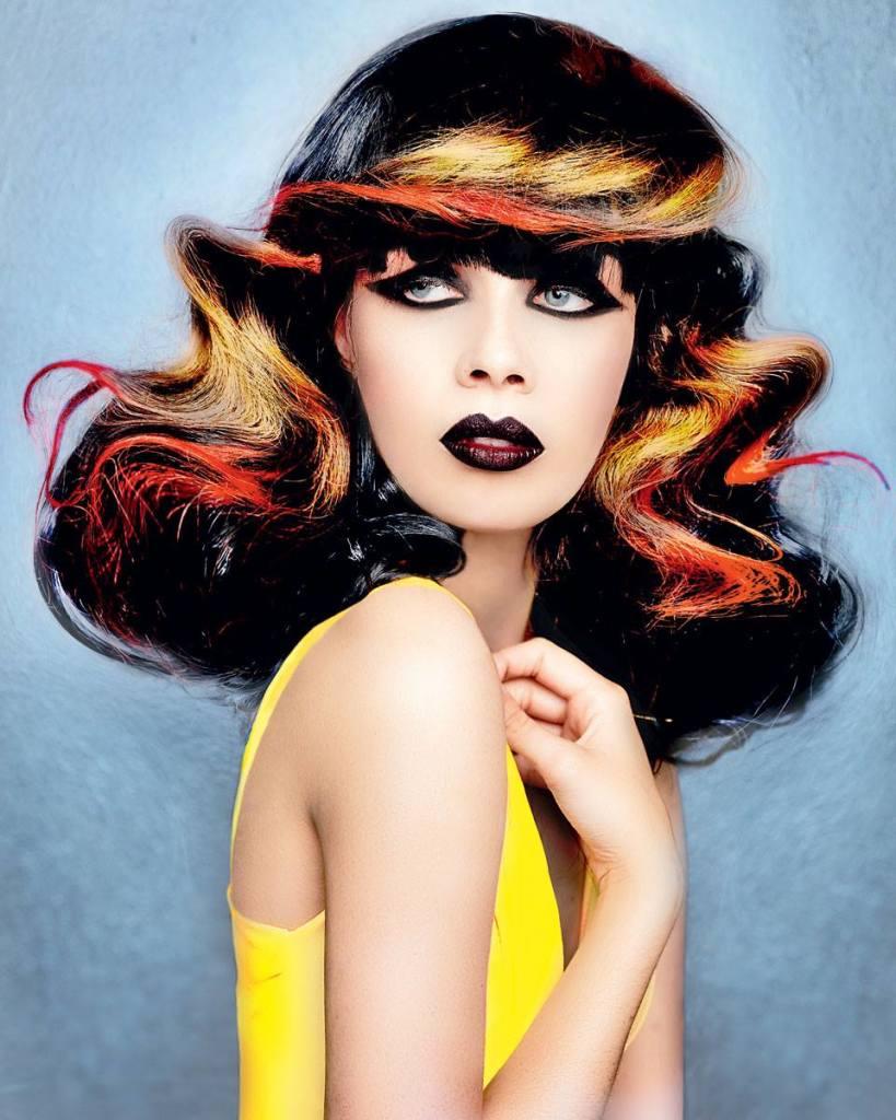 Avante Garde Hairstyle