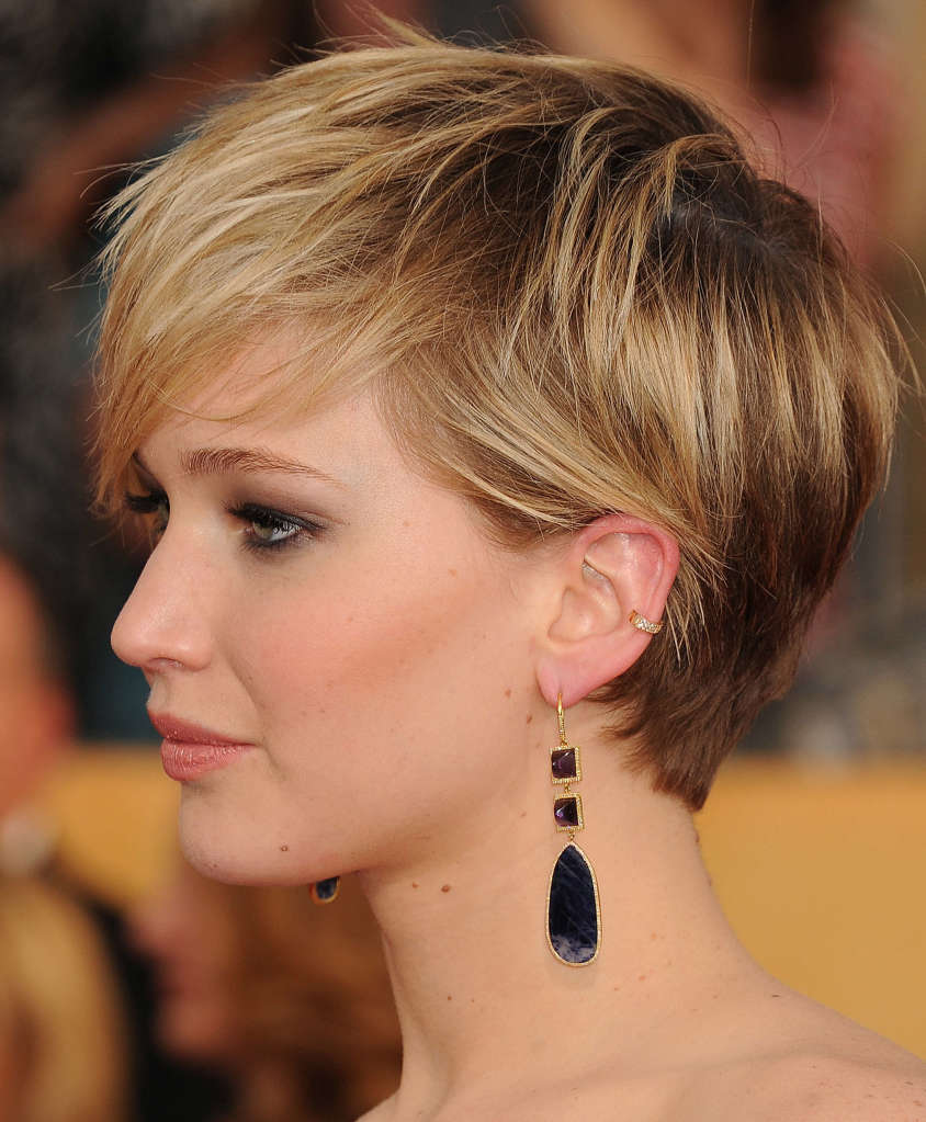 Jennifer Lawrence haircut for 2018